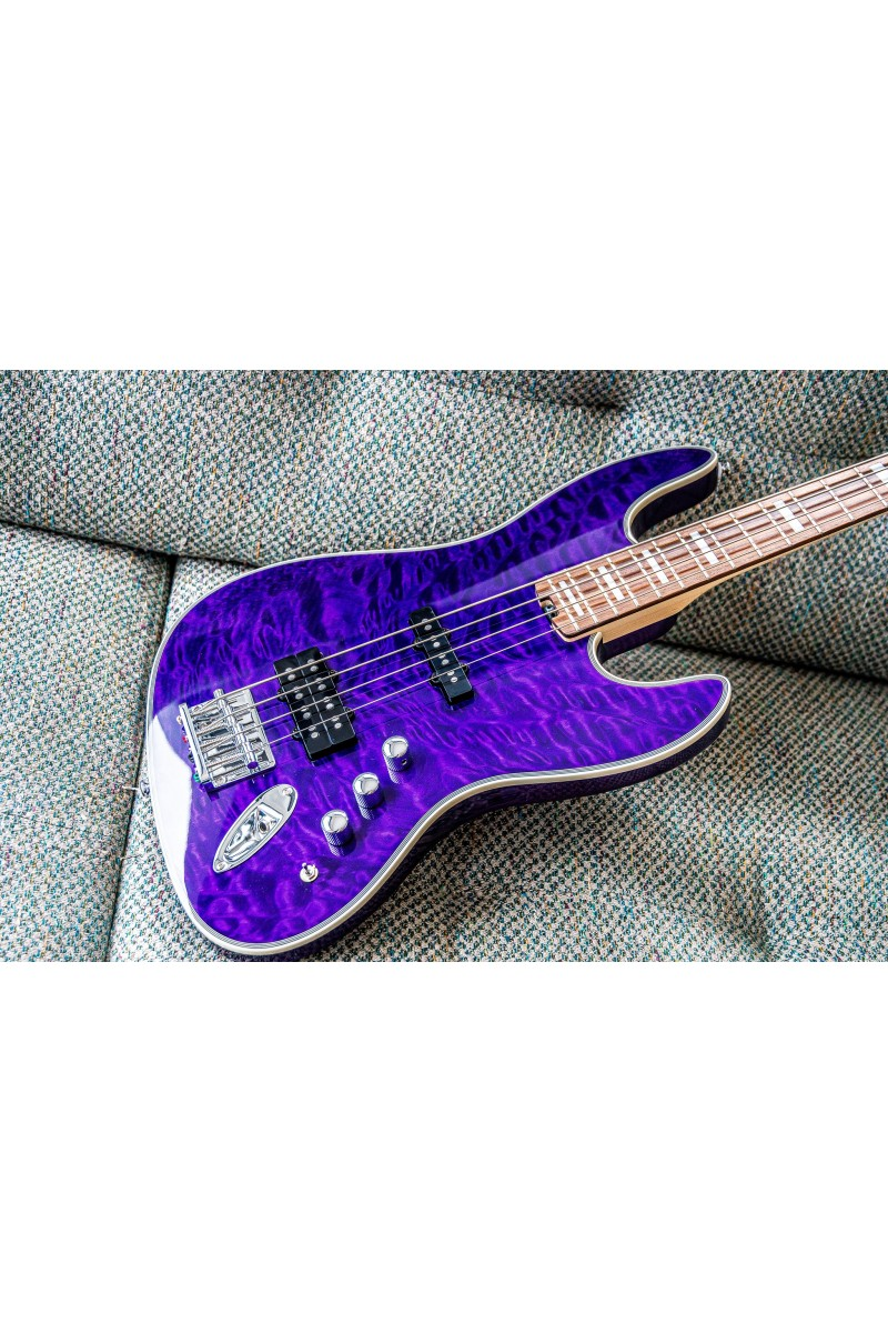 Tribe Wizard 4 Tribal purple quilted top